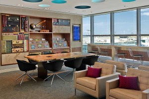 The Centurion Lounge at LaGuardia Airport