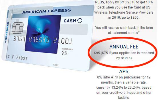 Amex Blue Cash Preferred Raising Annual Fee