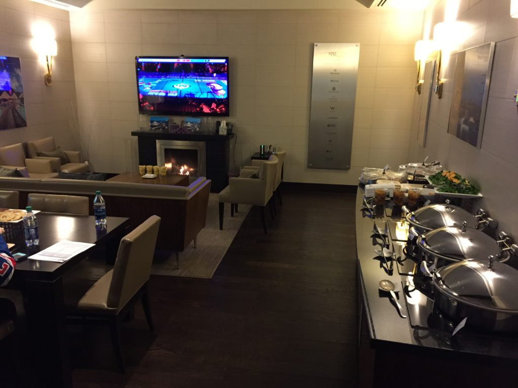 Madison Square Garden Starwood Event Level Suite