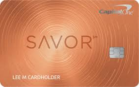Capital One Savor Credit Card Image