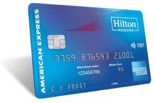 American Express Hilton Honors credit card image