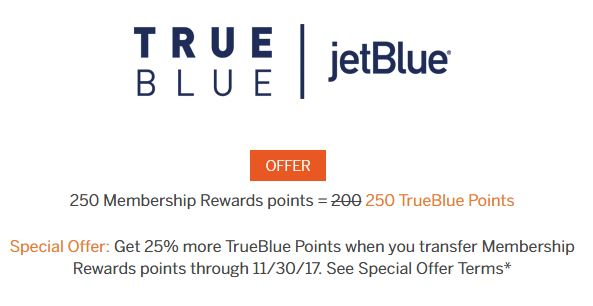 jetblue membership rewards bonus image