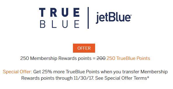jetblue membership rewards bonus image