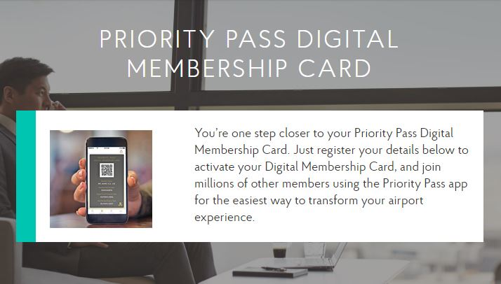 Priority Pass Digital Cards Now Available for Chase Members