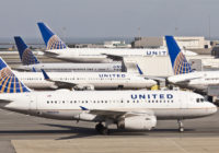 United Airlines Planes at Gates