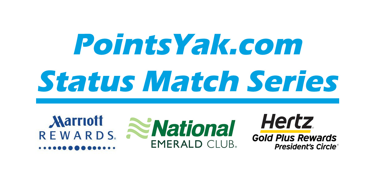 Status Match: Marriott Gold to National Exec Elite and Hertz PC