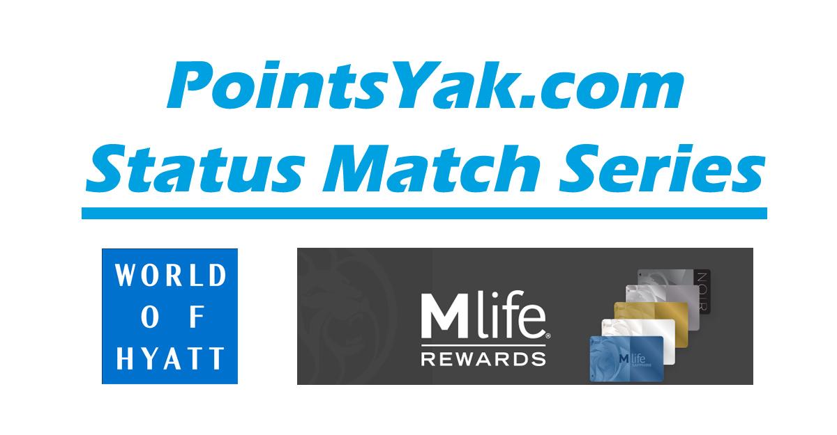 Status Match: World of Hyatt and MLife Rewards