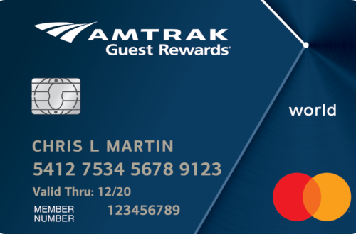 Amtrak World MasterCard Image