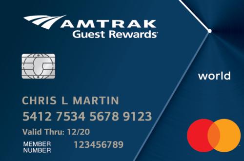 Amtrak World MasterCard Image