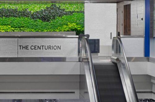 Denver Centurion Lounge Entrance