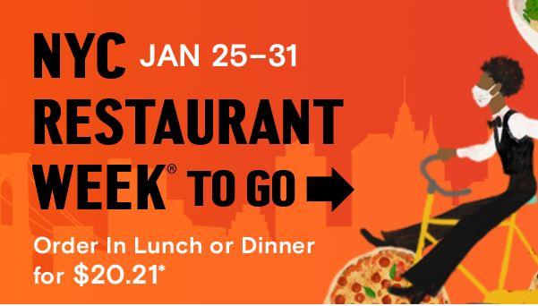 NYC Restaurant Week Banner